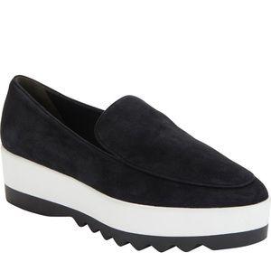 Donna Karan platform loafer 8